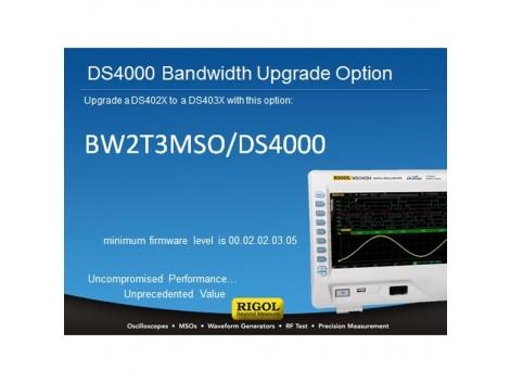 Rigol BW2T3-MSO/DS4000