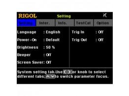 Rigol TRIGGER-DP700