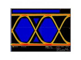 Tektronix ET3 - Positive side AOI Template test of 100BASE-TX signal