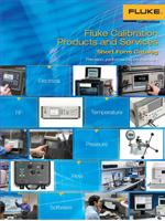 Fluke Calibration Produkte und Dienstleistungen Kurzform-Katalog 2015/2016