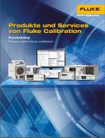 Fluke Calibration Produkte und Services Kurzform-Katalog 2019
