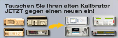 Fluke-Calibration Trade-In Aktion