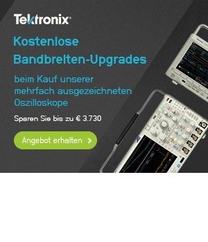 Kostenfreies Bandbreitenupgrade - Tektronix MDO3000 und MDO4000C Oszilloskope