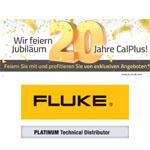 CalPlus Jubiläumsaktion- Fluke Scopemeter 190 II- und 120B-Serie