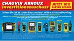 Chauvin Arnoux Investitionszuschuss